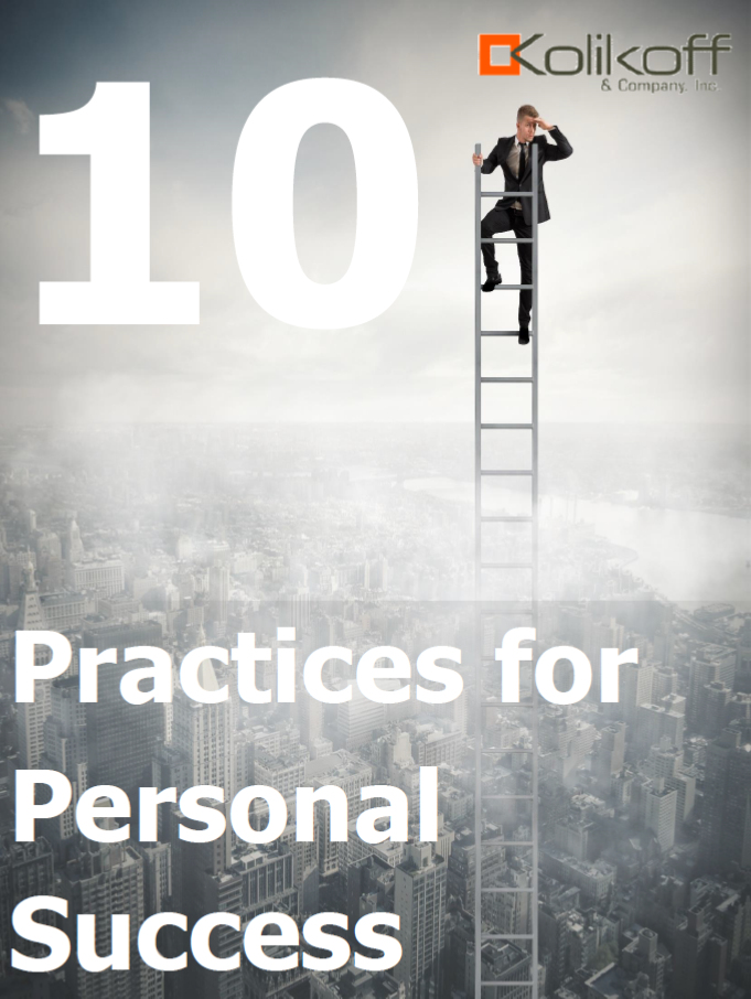 10 Practices for Personal Success